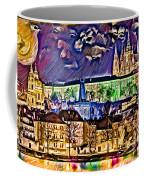 Old Prague Magic - Wallpaper Coffee Mug by Daniel Janda