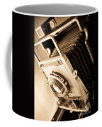Old Press Camera Coffee Mug by Edward Fielding