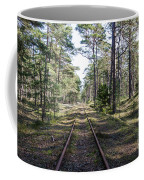 Old Railroad Tracks Coffee Mug