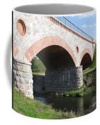 Old Railway Bridge In Silute. Lithuania. Summer Coffee Mug