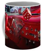 Old Red Chevy Dash Coffee Mug