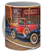 Old Red Pickup Truck Coffee Mug