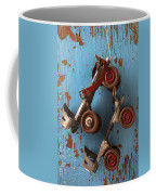 Old Roller Skates Coffee Mug by Garry Gay