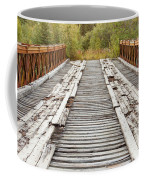 Old Rotten Abandoned Bridge Leading To Nowhere Coffee Mug