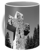 Old Rugged Cross Bw Coffee Mug