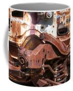 Old Rusty Coffee Mug