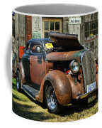Old Rusty Car At The Old Shop  Ca5083a-14 Coffee Mug
