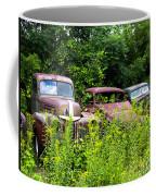 Old Rusty Cars Coffee Mug