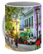 Old San Juan Street Coffee Mug
