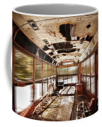 Old School Bus In Motion Hdr Coffee Mug