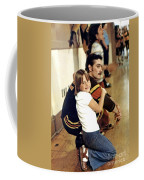 Old School Roller Derby Skater And His Number One Fan Coffee Mug
