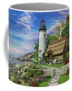 Old Sea Cottage Coffee Mug