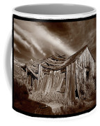 Old Shack Bodie Ghost Town Coffee Mug