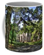 Old Sheldon Church Ruins Near Beaufort Sc Coffee Mug by Reid Callaway