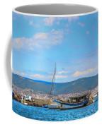 Old Ship Skeleton Coffee Mug
