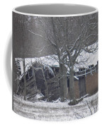 Old Snowy House Coffee Mug