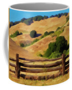 Old Split Rail Fence Coffee Mug by Michael Pickett