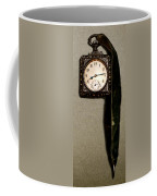 Old Square Clock Coffee Mug