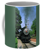 Old Steam Train Coffee Mug