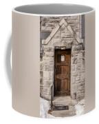 Old Stone Church Door Coffee Mug by Edward Fielding
