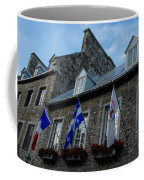 Old Stone Houses In Quebec City Canada  Coffee Mug