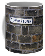 Old Street Sign Coffee Mug