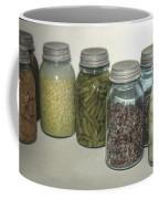 Old Style Vintage Kitchen Glass Jar Canning Coffee Mug