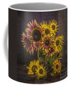 Old Sunflowers Coffee Mug
