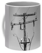 Old Telephone Pole Coffee Mug