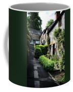 Old Terrace Houses - Peak District - England Coffee Mug