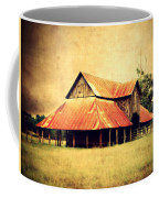 Old Texas Barn Coffee Mug by Julie Hamilton