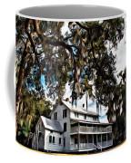 Old Thursby Plantation House Coffee Mug