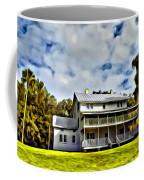 Old Thursby Plantation House Two Coffee Mug