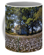 Old Time Farm And Cotton Fields Coffee Mug