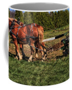 Old Time Horse Plowing Coffee Mug