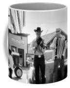 Old Time Musicians Bw Coffee Mug