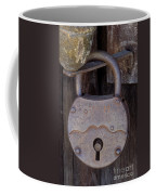 Old Time Padlock Coffee Mug