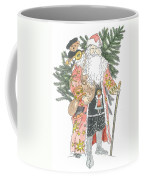 Old Time Santa With Teddy Coffee Mug