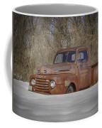 Old Timer In Color Coffee Mug