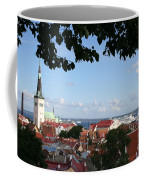 Old Town And Harbor - Tallinn Coffee Mug