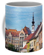Old Town Buildings In Budapest Coffee Mug