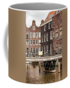 Old Town In Amsterdam Coffee Mug
