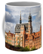 Old Town Of Gdansk In Poland Coffee Mug