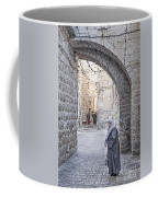 Old Town Street Of Jerusalem Israel Coffee Mug