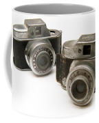 Old Toy Cameras Coffee Mug by Amy Cicconi