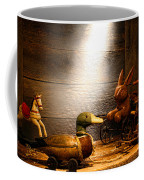 Old Toys In The Attic Coffee Mug by Olivier Le Queinec