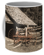 Old Vintage Antique Tractor In Appalachia Coffee Mug