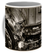 Old Tractor - Series Xv Coffee Mug