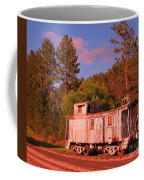 Old Train Caboose Coffee Mug