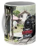 Old Train Engine Coffee Mug